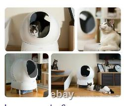 Aimicat Smart Litter Box Robot Self Cleaning Automatic Large Enclosed Kitty Cat
