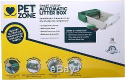 Automatic Litter Box Cat Pet Zone Kitty Self Cleaning Oder Trap Electric Quiet