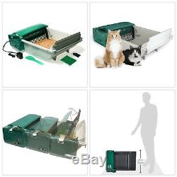 Automatic Scooper Litter Box Electric Self Cleaning Cat Box Absorbs Odor