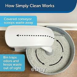 Automatic Self Cleaning Cat Litter Box Cleaning Simply Clumping Clean Odor Help