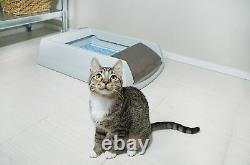 Automatic Self Cleaning Cat Litter Box Odor Control Kitty Scoopfree Dust Free