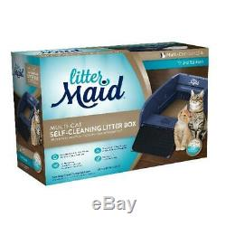 Automatic Self Cleaning Litter Maid Box Cat Pet Kitty Pan Scoop Multi Cats NEW