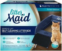 Automatic Single-Cat Litter Box Self-Cleaning Scoop with Ramp V 3.2 LitterMaid