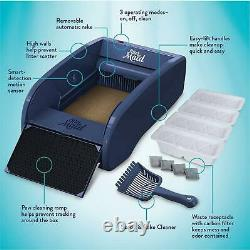 CAT SELF CLEANING LITTER BOX With Automatic Scooping Rake Waste Removal Regular