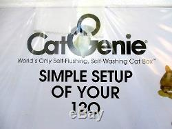 Cat Genie 120. Self Cleaning. Litter Box. New. Sealed