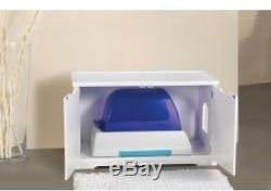 Cat Litter Box Enclosure And Bench
