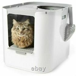 Cat Litter Box Extra Large Top or Front entry Option Reusable Litter Insert