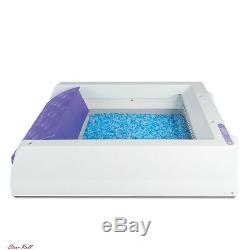 Cat Litter Tray Box Sifting Pet Scoopfree Crystal Odor Reusable Self Cleaning