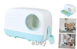 Cat Little Box Pull-Out Cat Litter Toilet Separate Design Easy to Clean and