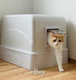 Cat-lit II Multifunction Self Clean Litter Box with odor clean system