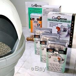 CatGenie 120 Self Cleaning Litter Box Uber Package