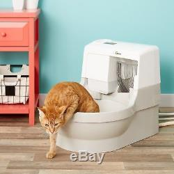 CatGenie 120 Self-Flushing Cat Box Clean Litter Self-Washing COMPLETE Kit