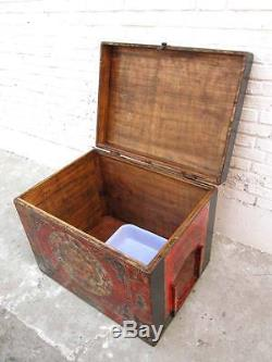 Cats Hygiene gorgeous painted chest Tibet Access on the right A Gem from Lu