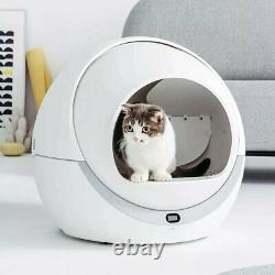 Cleaning Cat Litter Box Self Cleaning Closed Tray Toilet for Pet Fun Cat Toilet