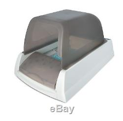 Covered Scoopfree Ultra Self-Cleaning Cat Litter Box Automatic Disposable Tray