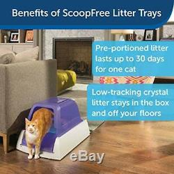 Easy Cleanup Ultra Disposable Pet Cleaning Hooded Cat Crystal Litter Box