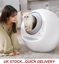 Fully Enclosed Automatic Smart Cat Litter Robot Box Self Cleaning
