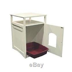 Hidden Cat Litter Box Cabinet Washroom And Night Stand Kitty Furniture Enclosure