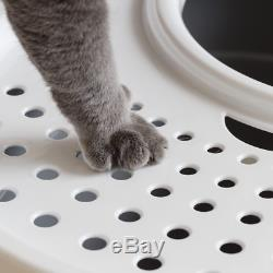 IRIS Top Entry Cat Litter Box The perfect way to prevent litter scatter