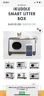 Ikuddle Automatic Self Cleaning Litter Tray