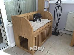 Indoor Cat House/Cat bed/Litter tray storage