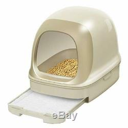 Kao Nyan Both Clean Toilet Set Dome Light Beige Cats Feelings Design JAPAN NEW