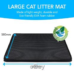 Large Cat Litter Mat For Use With Trays The Double Skin Black Hole Honeycomb T