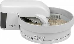 Litter Box With Clumping Cat Litter Auto Clean Whisper Quiet Removable Mess Free