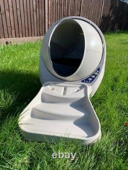 Litter Robot 3 Cream With Accesories Of Steps/Ramp And Fence RRP £650