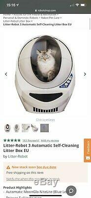 Litter-Robot 3 Self-Cleaning Litter Box With Ramp