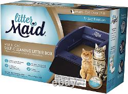 LitterMaid Multi-Cat Self-Cleaning Litter Box Automatic Scooping with Rake