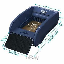 Littermaid LM980 Mega Multi-Cat Self-Cleaning Litter Box Cleaner for Cats