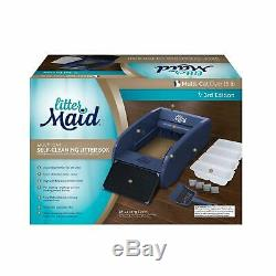 Littermaid LM980 Mega Self-Cleaning Scoop Litter Box Automatic Multi with Ramp