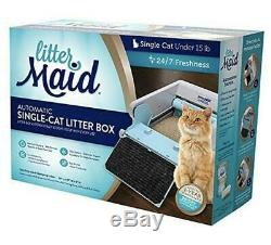 Littermaid Self Cleaning Litter Box LM680C Automatic 8 Receptacles & Filters