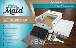 Lm980 Mega Self Cleaning Litter Box Automatic Multi Cat Litterbox Free Shipping