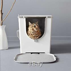 Modkat Flip Litter Box with Scoop and Reusable Liner 2-Pack