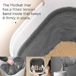 Modkat Top Entry Litter Box All-in-one Cat Litter Solution Easy to Clean