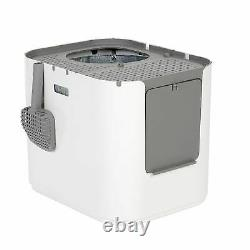 Modkat Xl Reusable Litter Box Front Upper Entry Opening Extra Large Stepping Lid