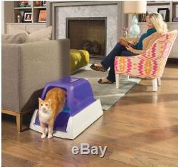 NEW PET SAFE SCOOPFREE Ultra Cat Kitty Self Cleaning Litter Box -Auto Scoop TraY