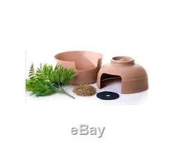 New Kitty Cat Pet Large Hidden Litter Box Furniture Living Room with Plant Moss