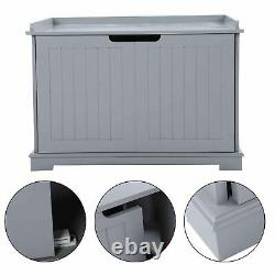 New Pet Cat Litter Tray Box Toilet Puppy Washroom Crate Cleaning House Wooden