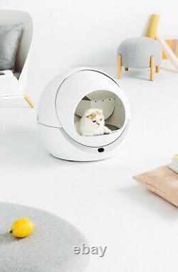 PETREE Automatic Self-cleaning Cat Litter Box (Pre-order with Free Curtain)
