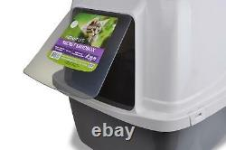 Paw Self Cleaning Automatic Cat Litter Box Large Roll'n Kitty Pewter Scoop