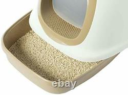 PawsMark Fully Enclosed Hooded Odor-Free Front Entry Cat Toilet
