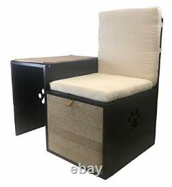 Penn-Plax Cat Walk Furniture Love Seat Bench & Play Hide Great Addition to