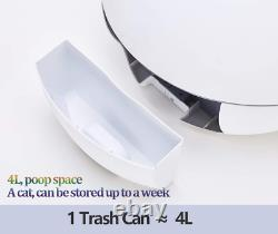 Pet Automatic Toilet Cat Poop Self Cleaning Bedpan Pussy Kitty Smart Sandbox