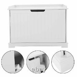 Pet Cat MDF Litter Box Cat House Indoor Cattery Enclosure Box 15mm Thickness