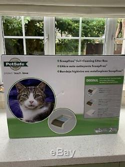 Pet Safe Scoop Free Self Cleaning Litter Box