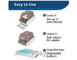 PetSafe Scoop Free Ultra Self Cleaning Automatic Litter Box Tray For Cats