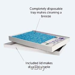PetSafe ScoopFree Cat Litter Tray Refills with Premium Non-Clumping Crystal Cat